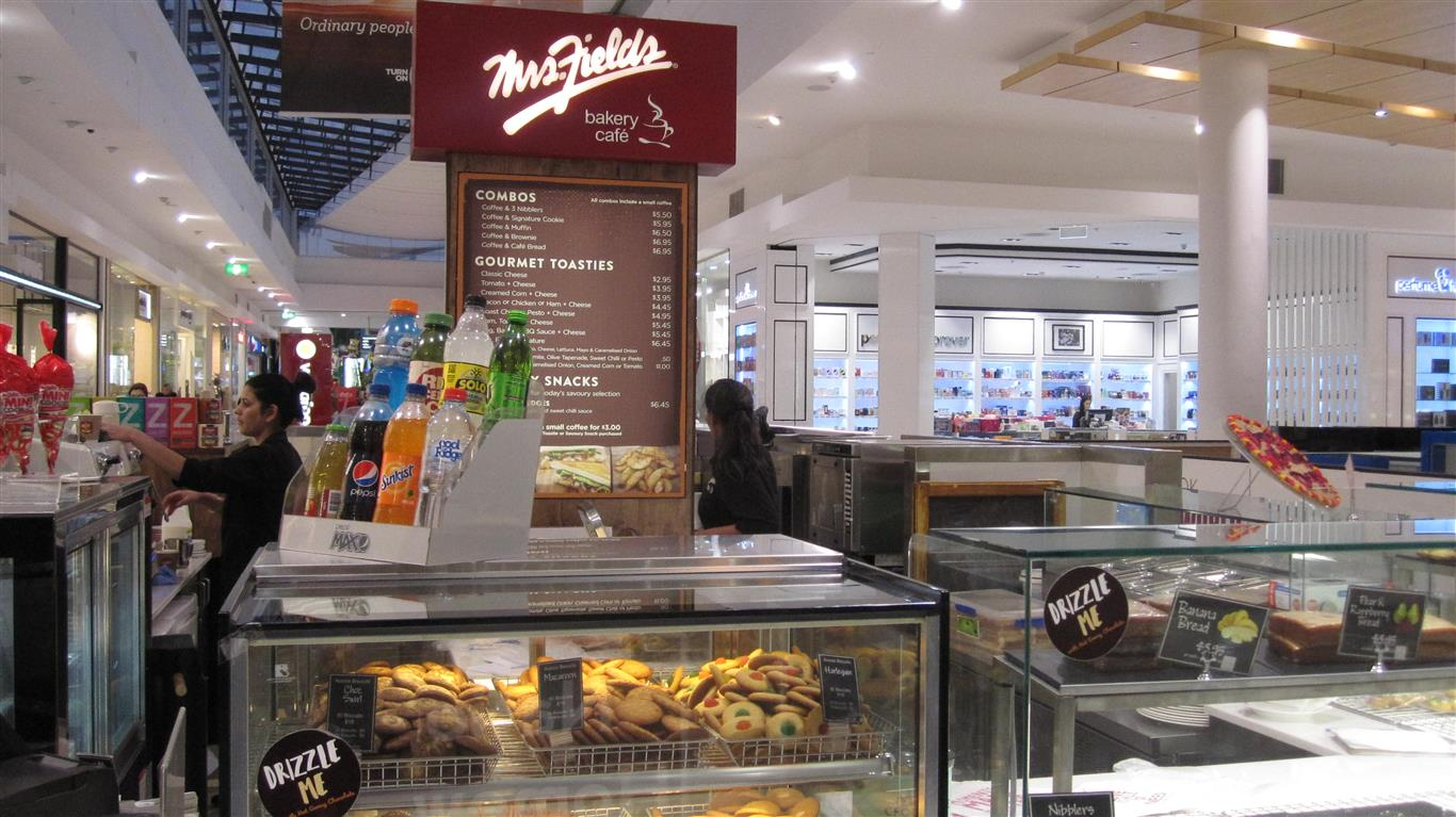Now Sold Mrs Fields Price Slashed Watergardens Shopping Centre Taylors Lakes Melbourne